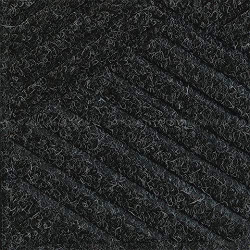 - Waterhog Eco Elite Fashion Fabric Border Scraper/Wiper Mat, Smoke Black, 3' x 5' (2 Units)