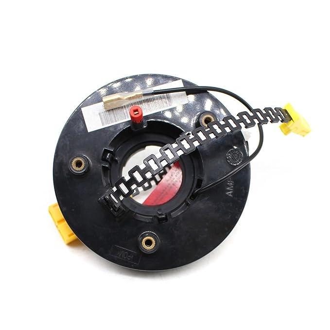 Reloj de cable en espiral con muelle para volante, para V W Cor rado Pas sat Polo Golf Seat Arosa: Amazon.es: Coche y moto