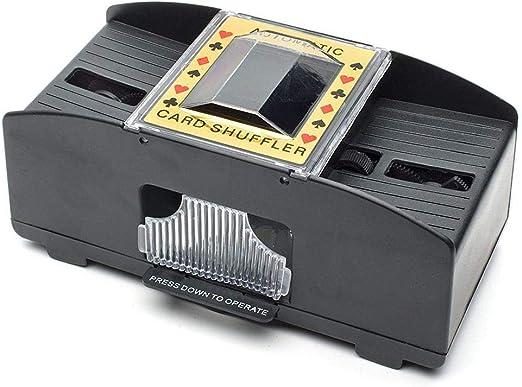 Automatische Karten Mischmaschine Poker 2 Decks Kartenmischer Maschine Schlurfen