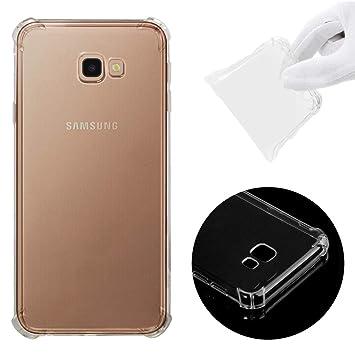 CoverTpu Funda Samsung Galaxy J4 Plus 2018 Transparente ...