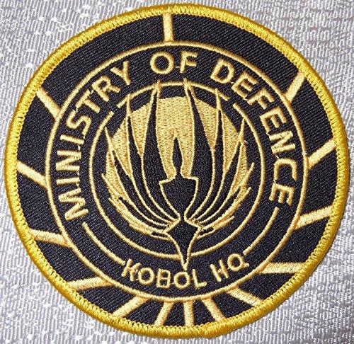 [Battlestar Galactica Ministry of Defense Kobol HQ Logo PATCH] (Galactica Costumes)