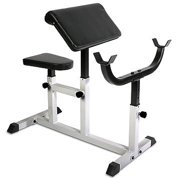 Physionics Hntlb09 Banc De Musculation Pour Biceps Avec Accoudoirs