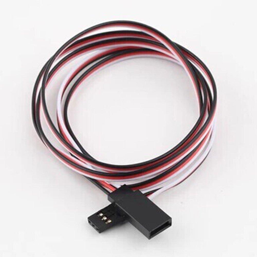 soccik Conector Control Remoto 15/cm servokabel garant/ía Cable de extensi/ón servo Futaba servokabel cuerda de alambre para cuadric/óptero drohnen y mucho m/ás 10/unidades