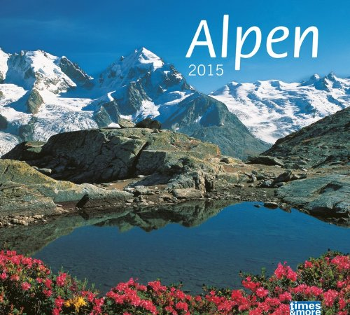 times&more Alpen Bildkalender 2015