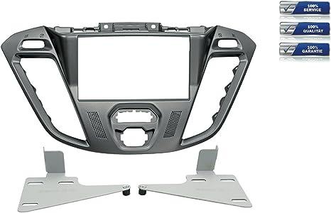 für Ford Transit Connect PJ2 Auto Radio Blende Einbau Rahmen 2-DIN schwarz