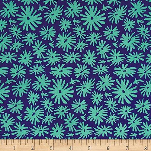 FreeSpirit Fabrics 0556115 Jennifer Paganelli Judith's Fancy Mary Navy Fabric by The Yard