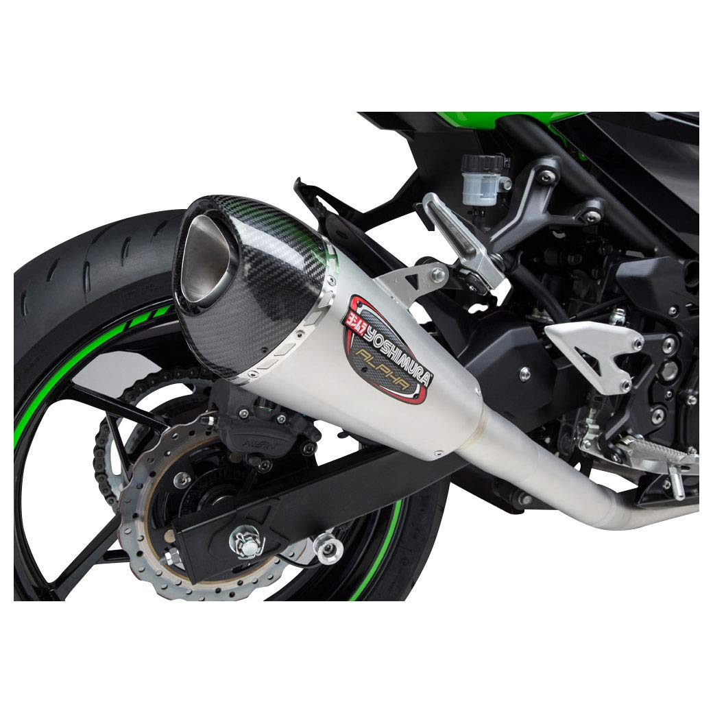 18 Kawasaki Ex400abs Yoshimura Alpha T Full System Pro Circuit T4 Complete Exhaust Motosport Race Stainless Steel Carbon Fiber Works Finish Automotive