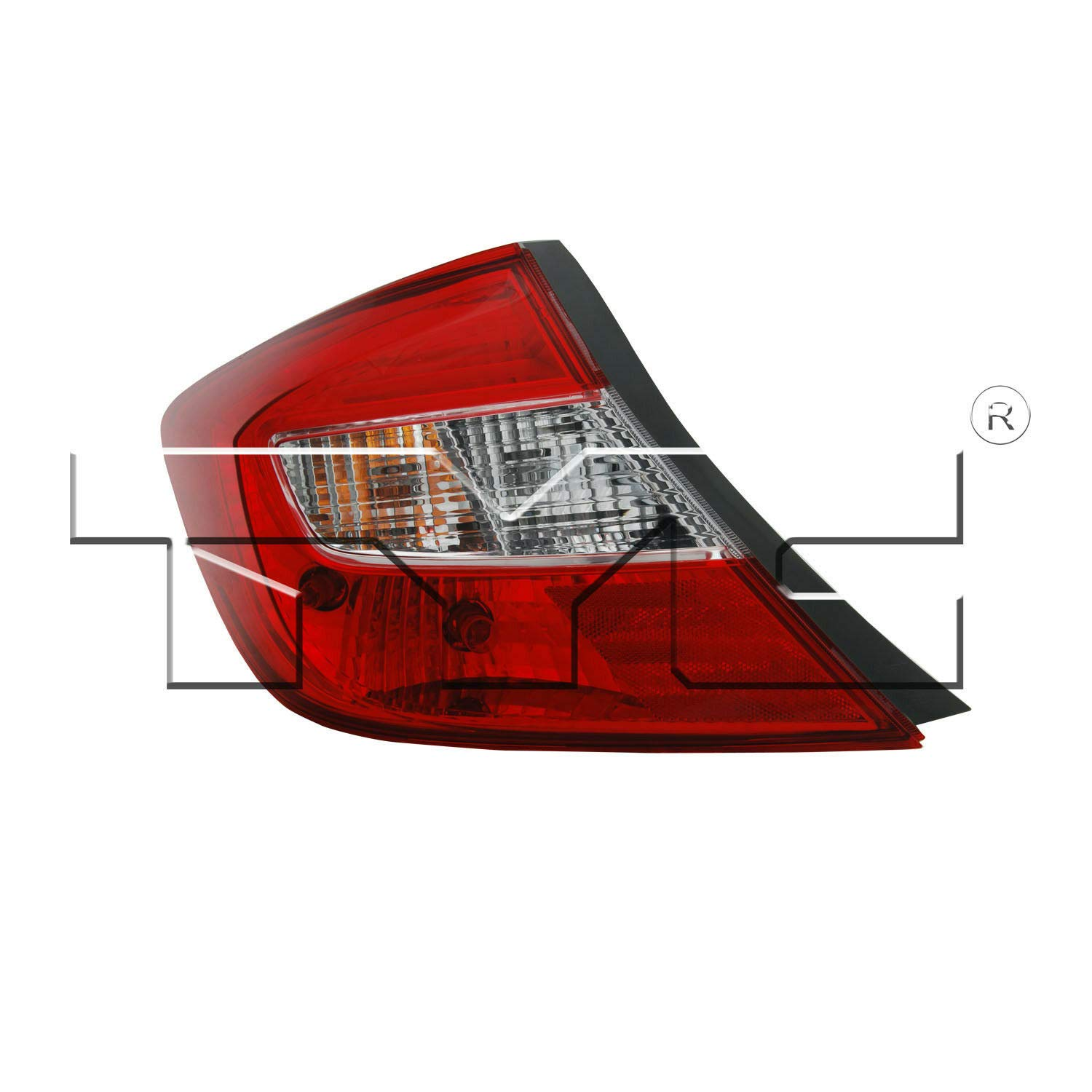 TYC 11-6374-00-1 Honda Civic Left Replacement Tail Lamp