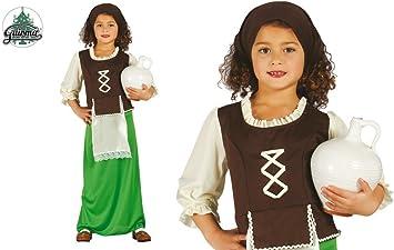 Disfraz de pastorcita verde infantil 3-4 años: Amazon.es: Juguetes ...