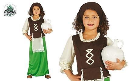 Disfraz de pastorcita verde infantil 5-6 años: Amazon.es ...