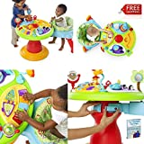 Baby Exersaucer Activity Center 3 in 1 Toys Seat Best Play Saucer Chair Fun Walker And eBook By NAKSHOP