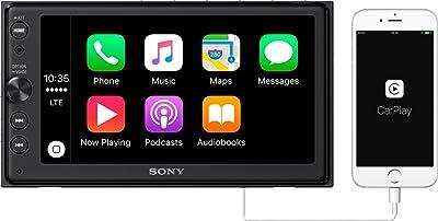 """Sony XAV-AX100 6.4"""" Car Play/Android Auto Media Receiver"""