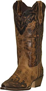 product image for Abilene Women's Rawhide by Boot Two-Tone Wingtip Cowgirl Snip Toe