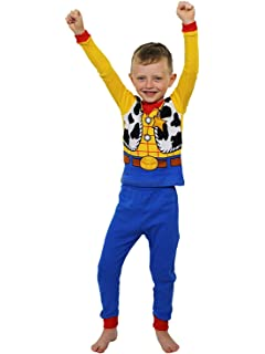 17cb1072b Amazon.com: Disney Toy Story Boys' 4-Piece Cotton Pajama Set: Clothing