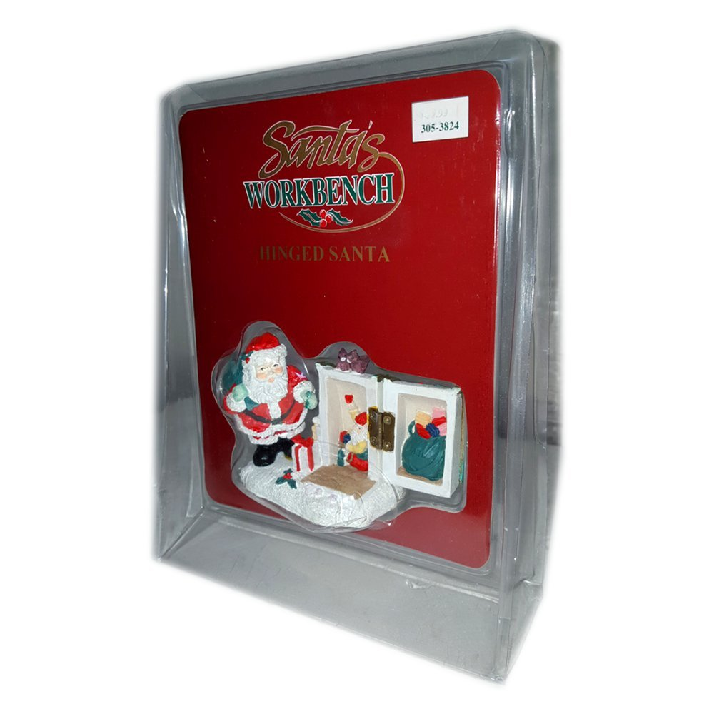 1995 Santa's Workbench Hinged Santa Mailbox No. 305-3824