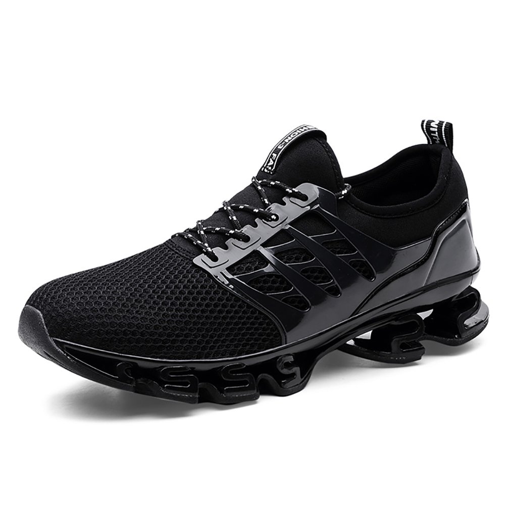 Smapavic Mens Outdoor Sport Walking Shoes Lightweight Mesh Wide Sneakers Trail Running Shoes