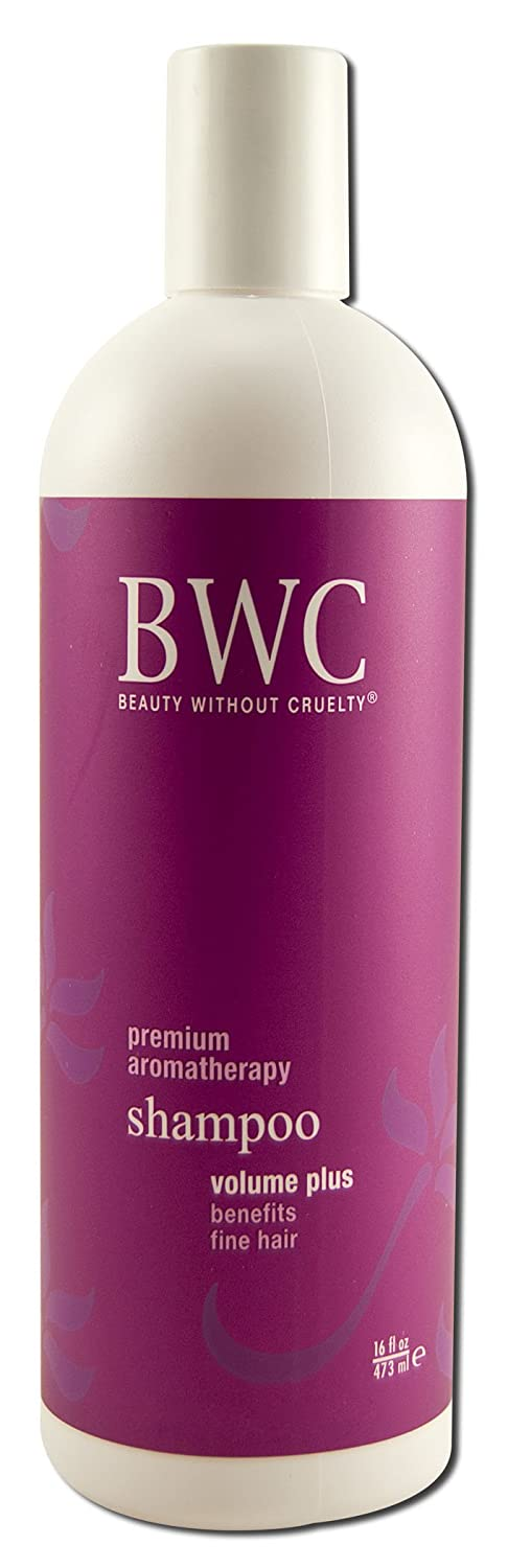 Beauty without Cruelty Shampoo, Volume Plus for Fine Hair, 16-ounce