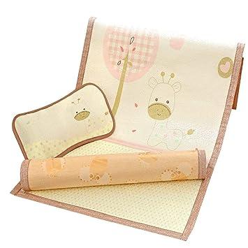 Amazon.com: Colchón de cuna de seda de hielo para recién ...