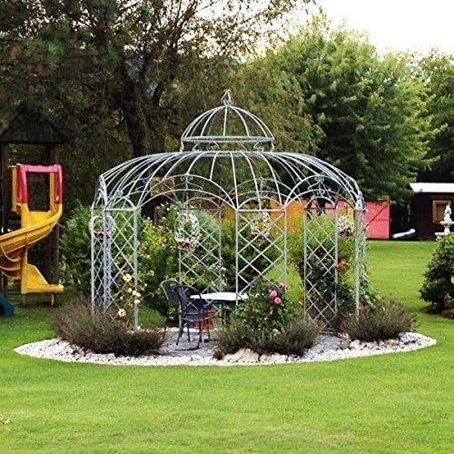 Carpa pabellón de jardín, Cenador de metal, Cenador, hierro Carpa ...