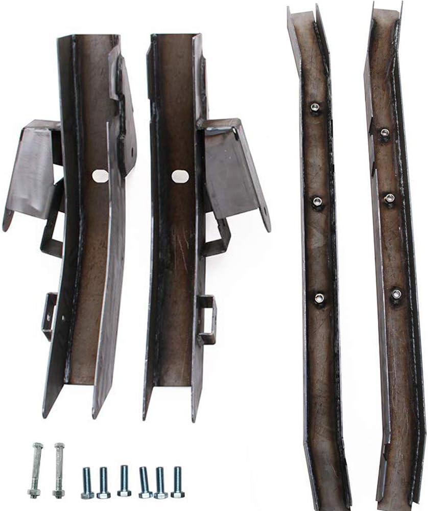 NIXFACE Rear Set Trail Control Arm Frame Rust Repair Kit for 1997-2006 Jeep Wrangler TJ
