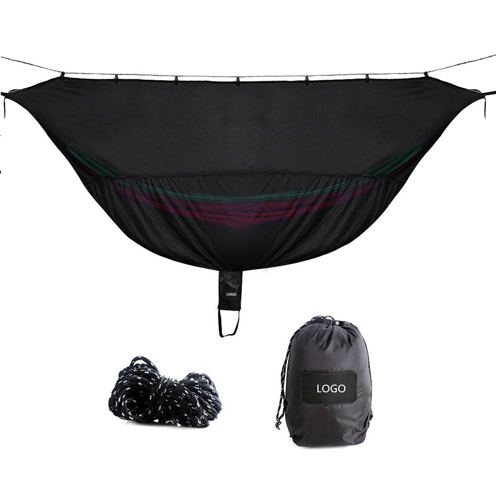 LWYJ Camping Hammock Bug & Mosquito Net - 360° Protection Perfect Mesh Netting Keeps No-See-Ums, Mosquito And Insects Out - Fits Almost All Hammocks, Compact, Lightweight. Fast Easy Setup