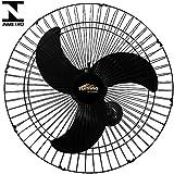 Ventilador de Parede Oscilante 60cm Preto Turbão 190W Bivolt