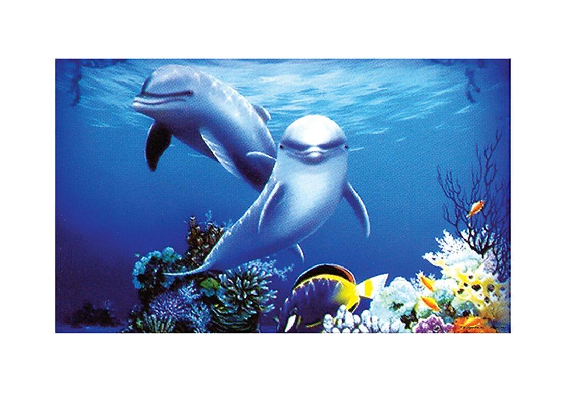 Penn-Plax Dolphins 3D Depth Background by Penn-Plax B00JIVLAP6