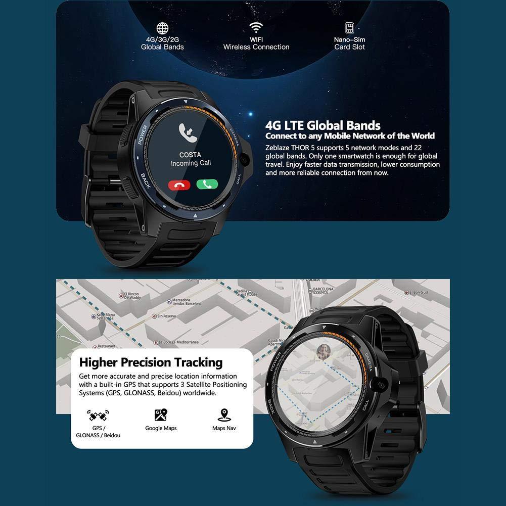 Kafuty Sistema Dual Dual-Chip Smartwatch Pulsera Bluetooth ...