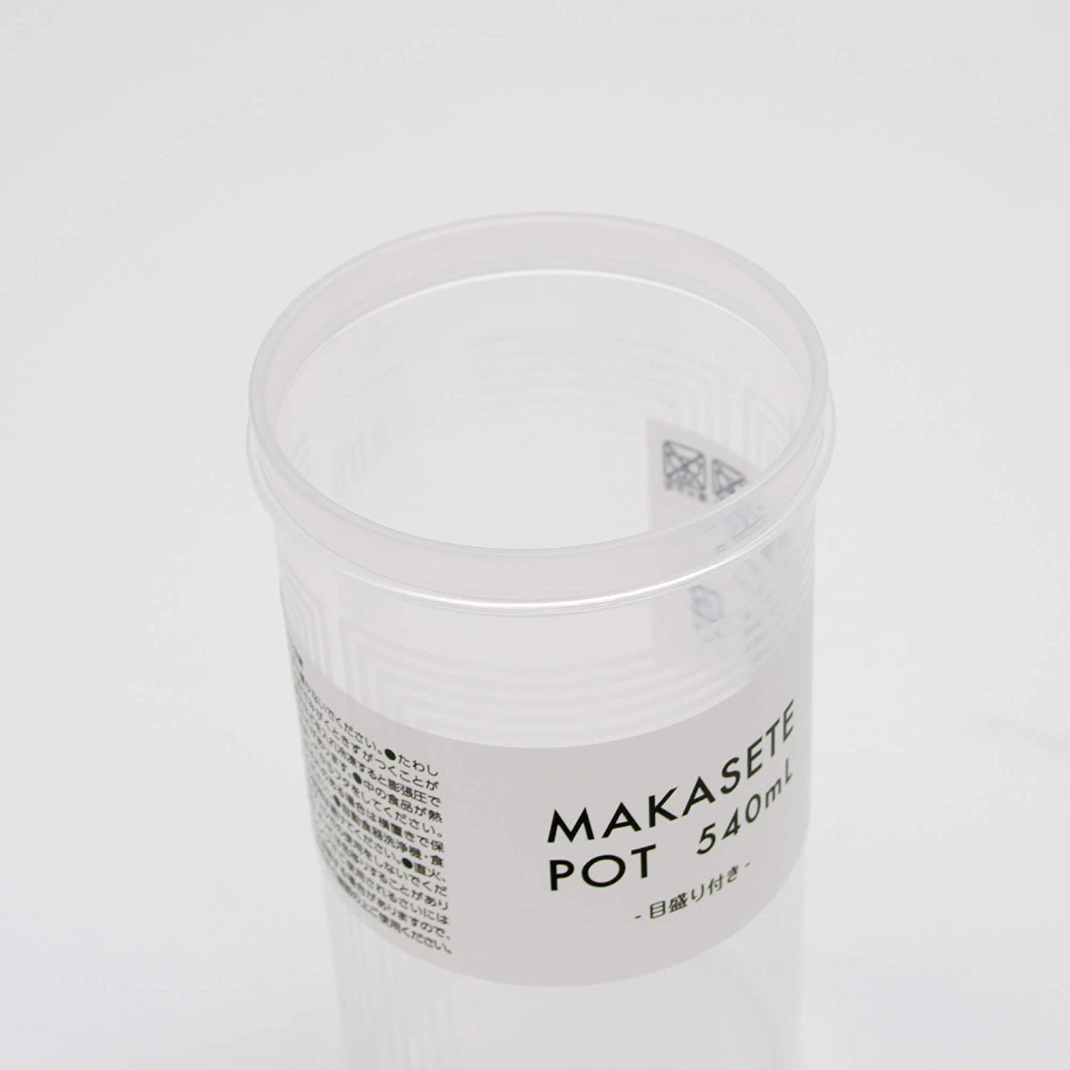Protein Makasete Pot Simple Shaker Bottle for Salad Dressing Clear Sauce Smoothies 18 oz Made in Japan Meal Replacements