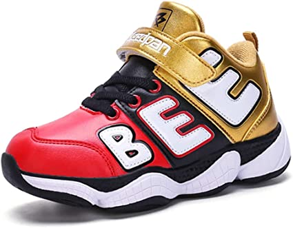 Boy/'s Childrens Basketball Sneaker High Top Fashion Casual Shoes Little//big Kids