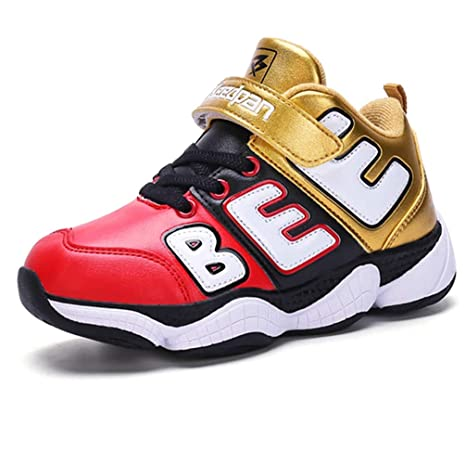 f9e51bdc LGXH Kids Casual Outdoor Basketball Shoes Comfortable Non-Slip Boys Girls  Winter School Athletic Sneaker