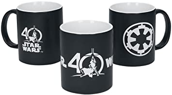 Amazon.com: Star Wars 02819 40th Anniversary Deluxe Mug ...