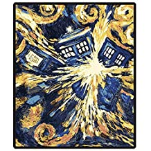 Doctor Who Matt Smith the Pandorica Opens Fleece Throw Blanket Afghan