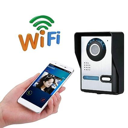 YLXD Videoportero Video Doorbell Timbre de Video, WiFi Video ...