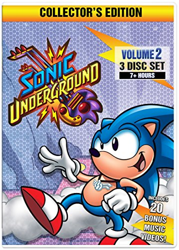 Sonic Underground Volume 2 Collector's Edition