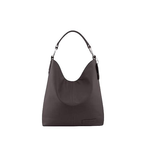 0c33cc9805 Manzoni Brown Women s Leather Shoulder Bag  Manzoni  Amazon.in  Shoes    Handbags