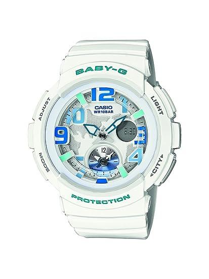 Casio Mujer Reloj De Pulsera Analógico – Digital Cuarzo Resin BGA de 190 – 7BER