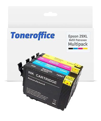 fop Juego de cartuchos de impresora compatible para Epson XP de ...