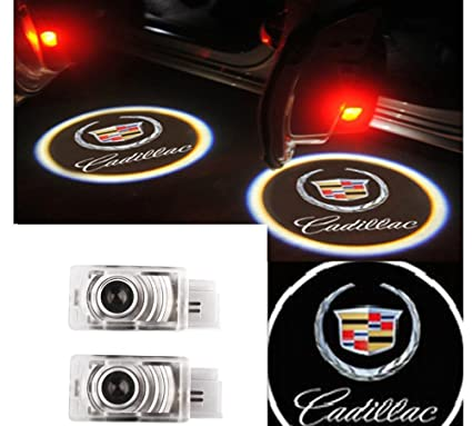 a528841bec7 Amazon.com  Moonet 2x LED Door Courtesy Shadow Ghost Lamp Projector Light  for Cadillac 2011-2018 SRX