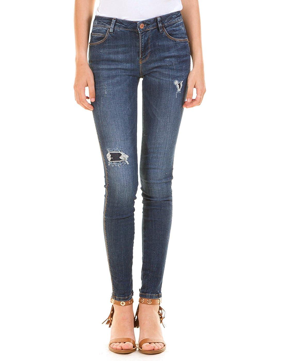 Guess pantalón vaquero con aplicaciones (29 - Azul oscuro ...