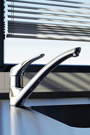 Ideal Standard B5344AA Cerasprint 1 Mitigeurs d/évier bec fondu orientable