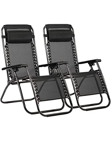 Folding patio chairs Wood Bestmassage Zero Gravity Chair Patio Lounge Recliners Adjustable Folding Set Of For Pool Side Outdoor Amazoncom Patio Chairs Amazoncom