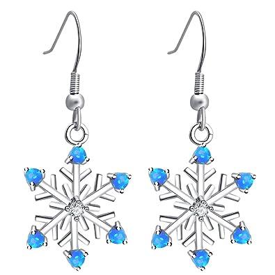 c9a910f40cfa02 Amazon.com: Snowflake designer gift for ladies friendship silver ...