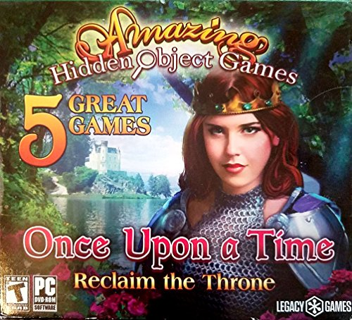 Amazing Hidden Object Games 5 Pack: Once Upon a Time - Reclaim the Throne (Puzzle Games For Computer)