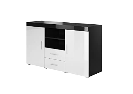 La Credenza Muebles : Muebles bonitos credenza modello roque colore nero e bianco: amazon