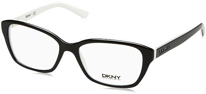 DKNY DY4668 Eyeglass Frames 3627-53 - Black/White at Amazon Men\'s ...