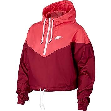 Nike W NSW HRTG JKT WNDBRKR Chaqueta, Mujer: Amazon.es ...