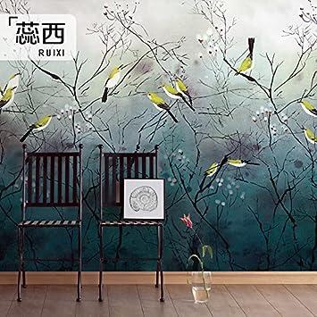 Hanhuan Art Deco Fresko Tapete Hintergrundbild Wandbild Wasserdicht