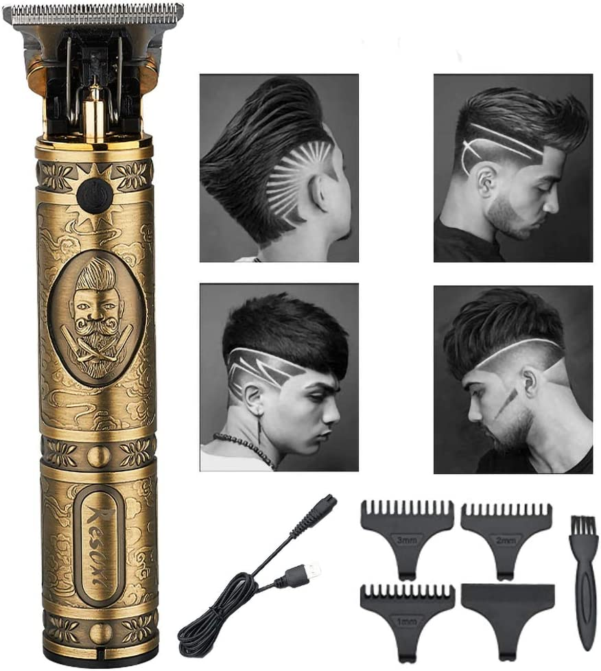 JYMSB MáQuina Cortar Pelo Profesional Maquina Barba Hombre Cortapelo Cortapelos Maquina Cortapelo Cortapelos ElectróNico