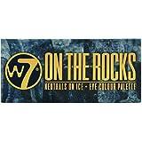 W7- Palette di ombretti On The Rocks Naturals on Ice, 11,2g, 12 pezzi